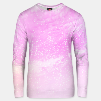 Thumbnail image of Cosmic pastel pink sky ( digital watercolor ) Unisex sweater, Live Heroes