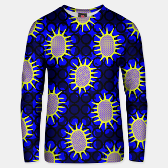 Miniatur African Print Unisex sweater, Live Heroes