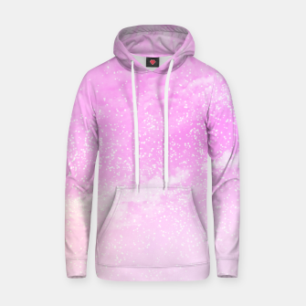 Thumbnail image of Cosmic pastel pink sky ( digital watercolor ) Hoodie, Live Heroes