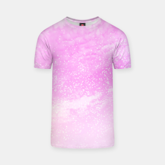 Thumbnail image of Cosmic pastel pink sky ( digital watercolor ) T-shirt, Live Heroes