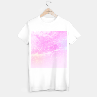 Thumbnail image of Cosmic pastel pink sky ( digital watercolor ) T-shirt regular, Live Heroes