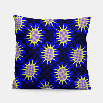 Thumbnail image of African Print Pillow, Live Heroes