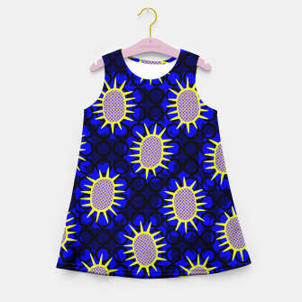 Thumbnail image of African Print Girl's summer dress, Live Heroes
