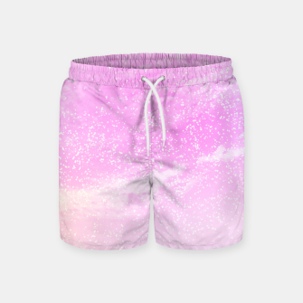 Thumbnail image of Cosmic pastel pink sky ( digital watercolor ) Swim Shorts, Live Heroes