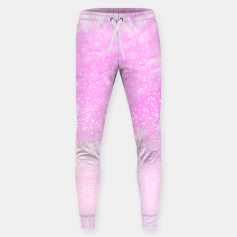 Thumbnail image of Cosmic pastel pink sky ( digital watercolor ) Sweatpants, Live Heroes