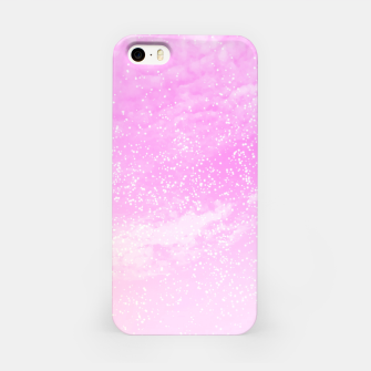 Thumbnail image of Cosmic pastel pink sky ( digital watercolor ) iPhone Case, Live Heroes