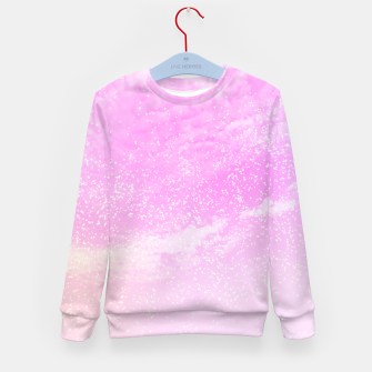 Thumbnail image of Cosmic pastel pink sky ( digital watercolor ) Kid's sweater, Live Heroes