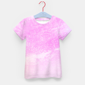Thumbnail image of Cosmic pastel pink sky ( digital watercolor ) Kid's t-shirt, Live Heroes