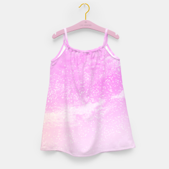Thumbnail image of Cosmic pastel pink sky ( digital watercolor ) Girl's dress, Live Heroes