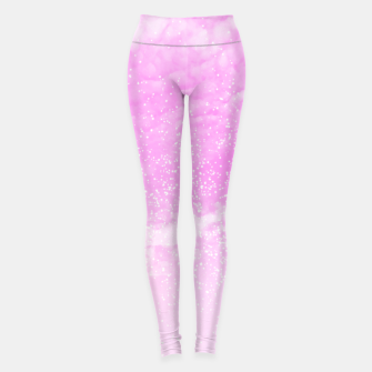 Thumbnail image of Cosmic pastel pink sky ( digital watercolor ) Leggings, Live Heroes