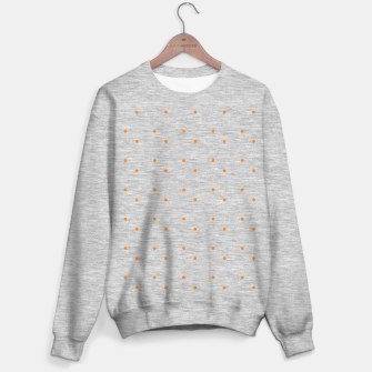 Thumbnail image of cute orange dots pattern Sweater regular, Live Heroes
