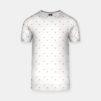 Thumbnail image of cute orange dots pattern T-shirt, Live Heroes