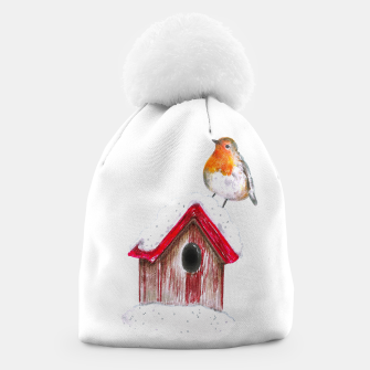 Thumbnail image of Winter Robin Beanie, Live Heroes