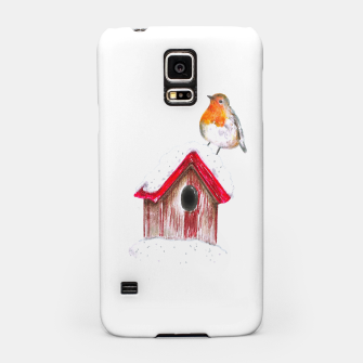 Thumbnail image of Winter Robin Samsung Case, Live Heroes