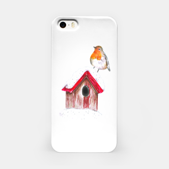 Thumbnail image of Winter Robin iPhone Case, Live Heroes