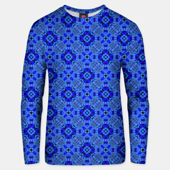 Thumbnail image of Blue Mandala Pattern Unisex sweater, Live Heroes