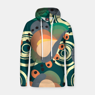 Thumbnail image of Psychedelic retro pattern Hoodie, Live Heroes