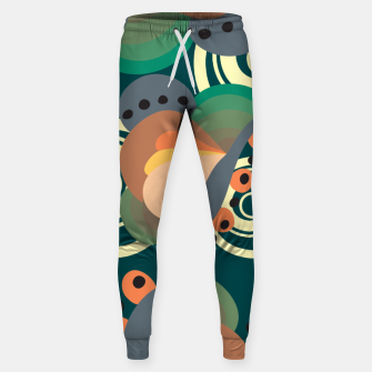 Miniatur Psychedelic retro pattern Sweatpants, Live Heroes