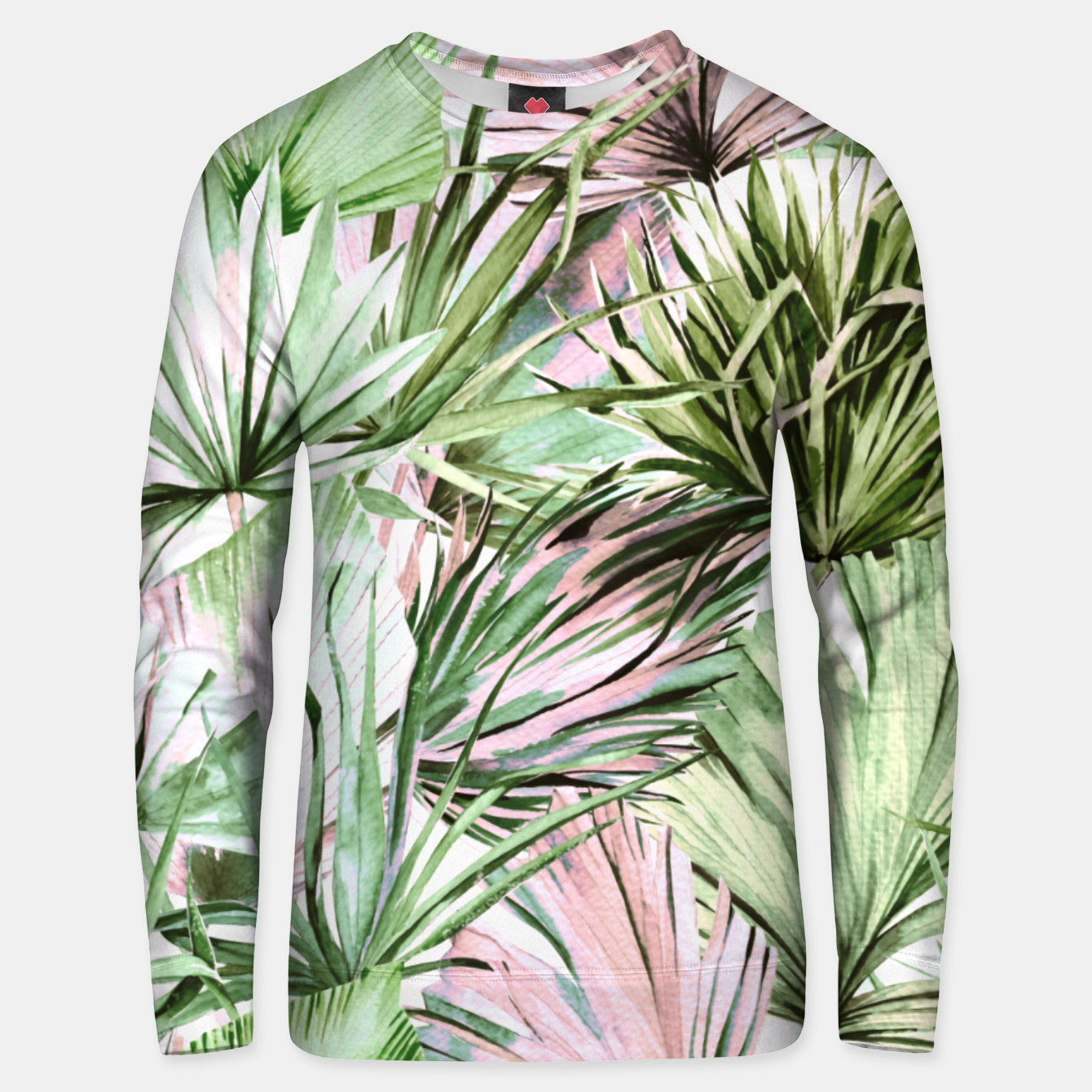 Image of Nice watercolor tropical Sudadera unisex - Live Heroes