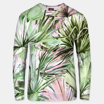 Nice watercolor tropical Sudadera unisex thumbnail image