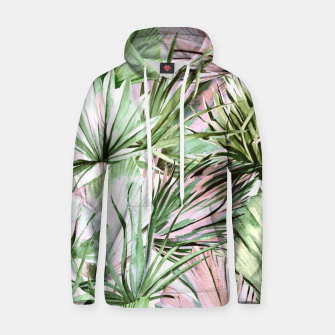 Nice watercolor tropical Sudadera con capucha miniature
