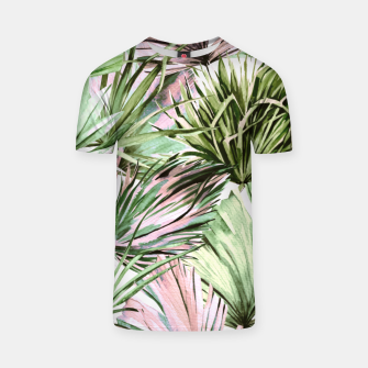Miniatur Nice watercolor tropical Camiseta, Live Heroes