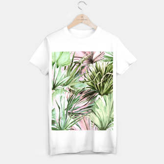 Miniatur Nice watercolor tropical Camiseta Regular, Live Heroes