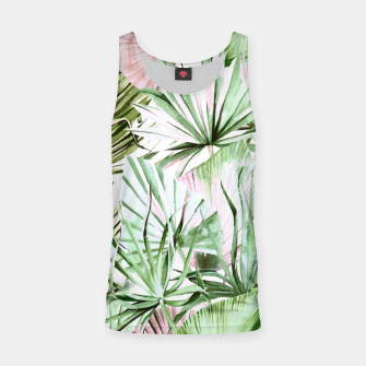 Nice watercolor tropical Camiseta de tirantes miniature