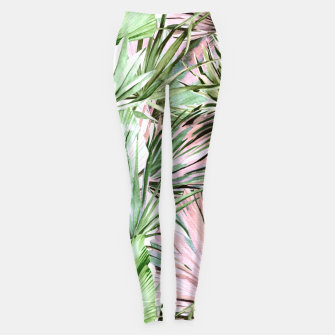 Nice watercolor tropical Leggings miniature