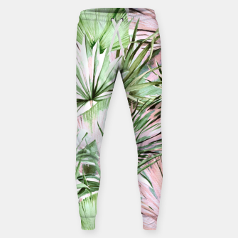 Nice watercolor tropical Pantalones de chándal  thumbnail image