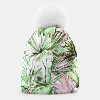 Miniatur Nice watercolor tropical Gorro, Live Heroes