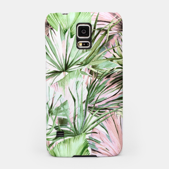 Nice watercolor tropical Carcasa por Samsung miniature