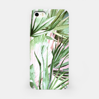 Miniatur Nice watercolor tropical Carcasa por Iphone, Live Heroes