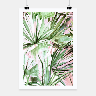 Miniature de image de Nice watercolor tropical Cartel, Live Heroes