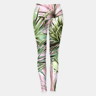 Miniatur Nice watercolor tropical Leggings, Live Heroes