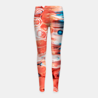 Miniatur One of a Kind Girl's leggings, Live Heroes