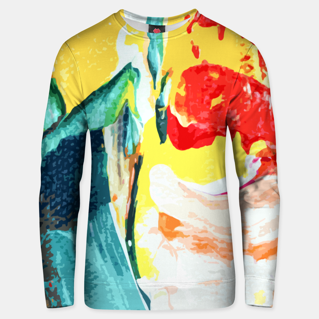 Foto Color Collage Unisex sweater - Live Heroes