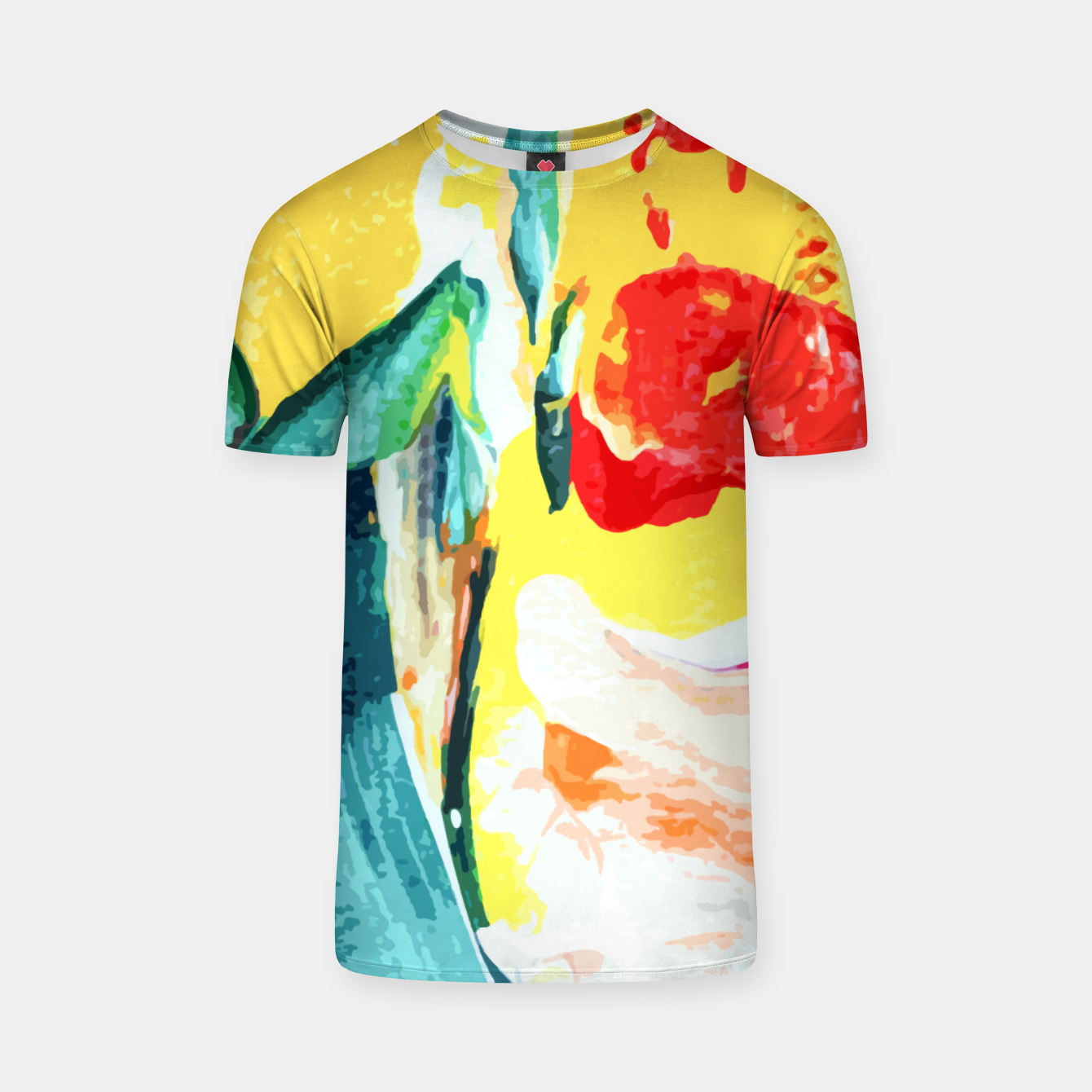 Image of Color Collage T-shirt - Live Heroes