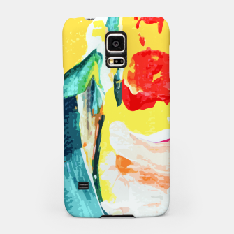 Miniatur Color Collage Samsung Case, Live Heroes