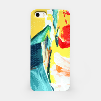 Color Collage iPhone Case Bild der Miniatur