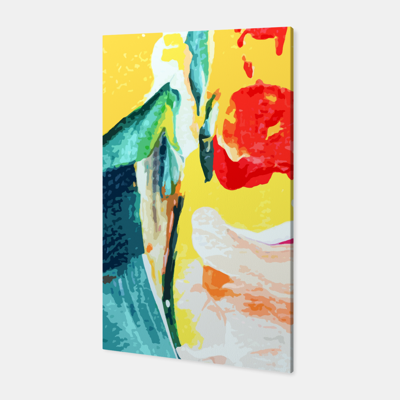 Image of Color Collage Canvas - Live Heroes