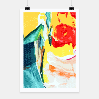 Thumbnail image of Color Collage Poster, Live Heroes