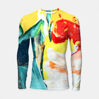 Thumbnail image of Color Collage Longsleeve rashguard , Live Heroes