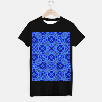Thumbnail image of Blue Mandala Pattern T-shirt regular, Live Heroes