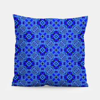 Thumbnail image of Blue Mandala Pattern Pillow, Live Heroes