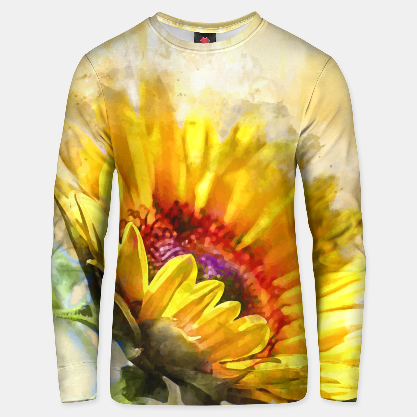 Image of Blossom Sunny Unisex sweater - Live Heroes