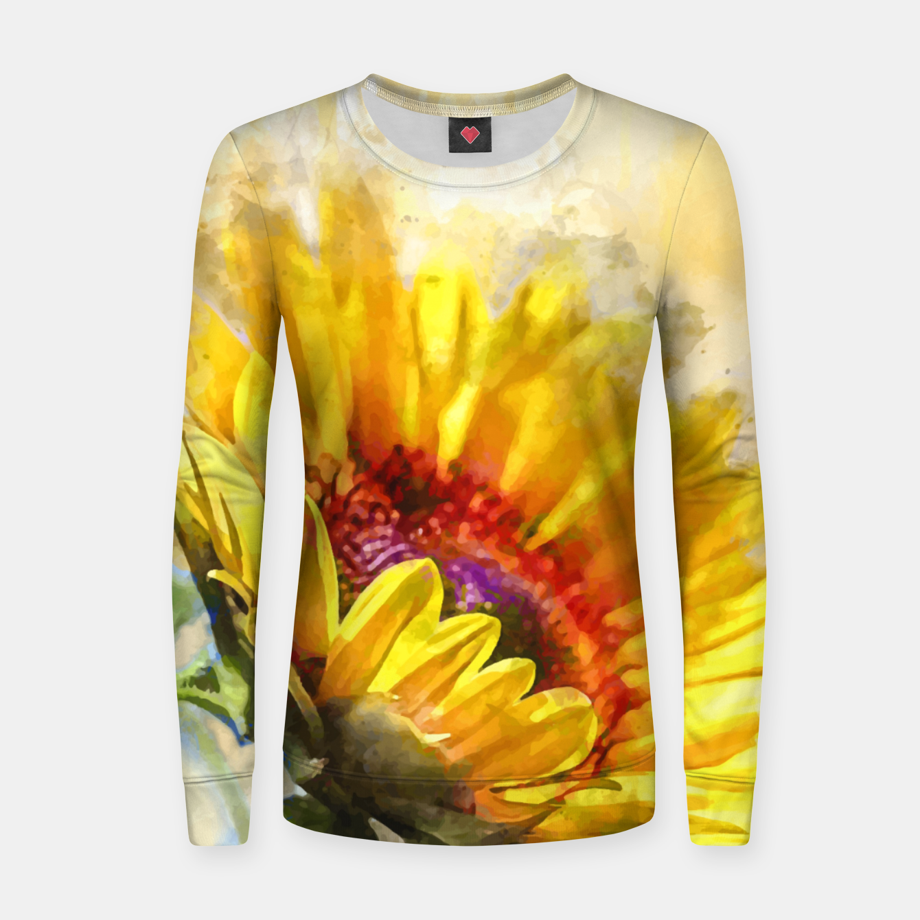 Image of Blossom Sunny Women sweater - Live Heroes