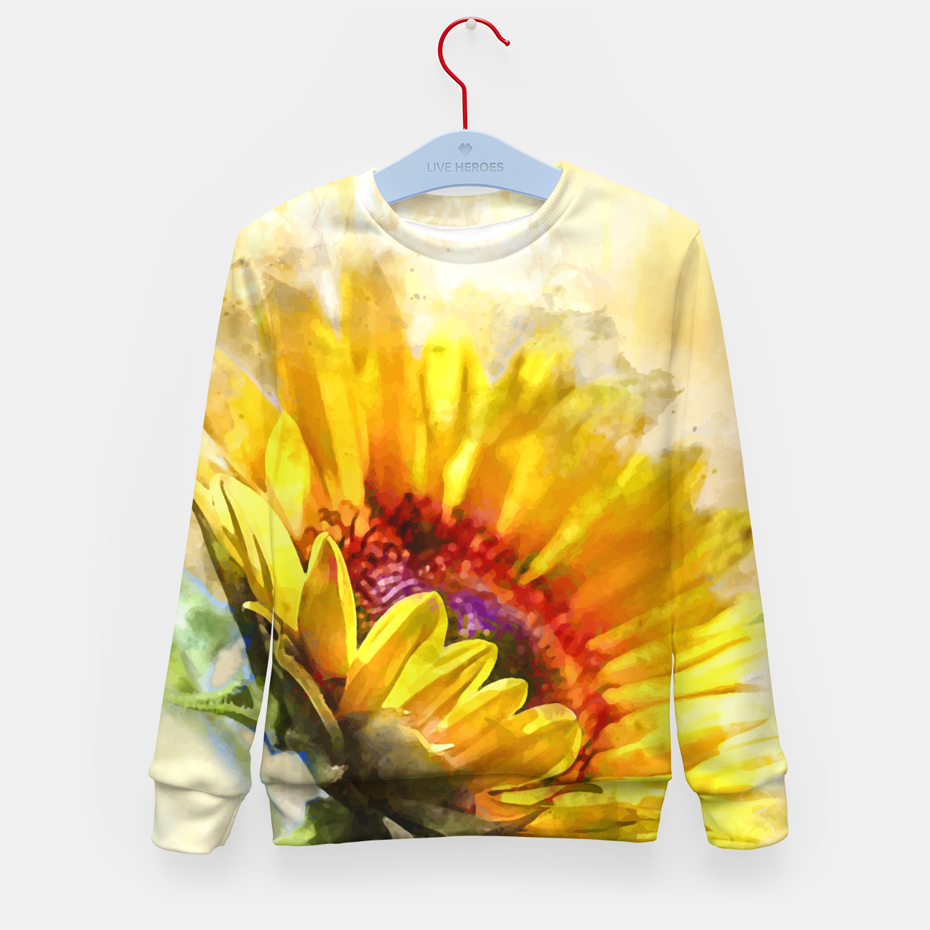 Image of Blossom Sunny Kid's sweater - Live Heroes