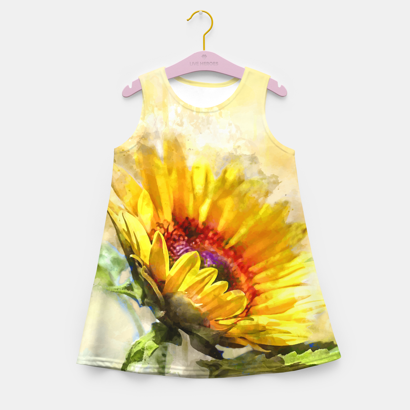 Image of Blossom Sunny Girl's summer dress - Live Heroes