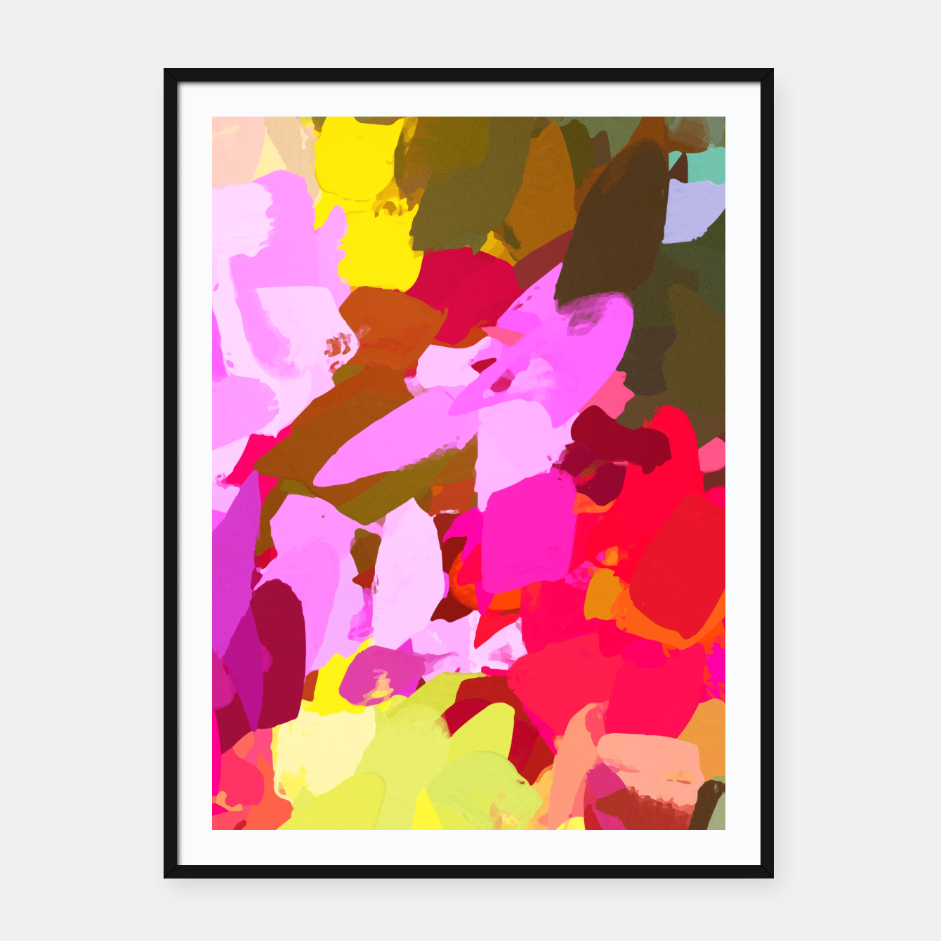 Foto Winterberry Framed poster - Live Heroes